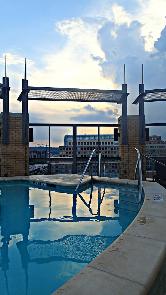 Rooftop Pool Old Town Alexandria Apartment