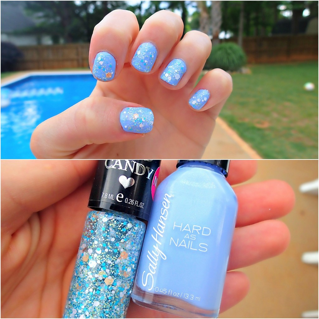 Nail Polish Idea Blue Summer Fingernail Polish
