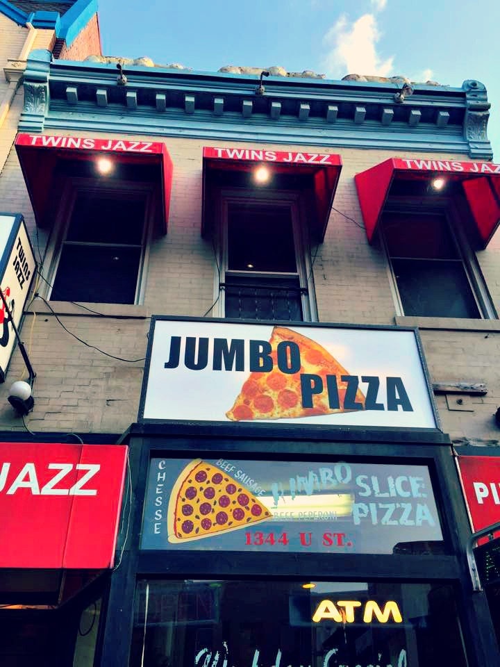 u street jumbo slice washington d.c.