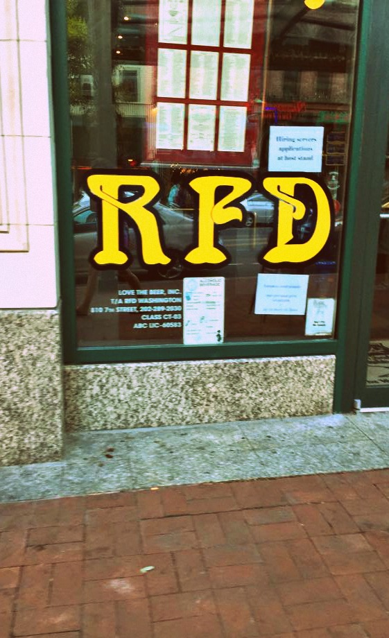 rfd china town dc