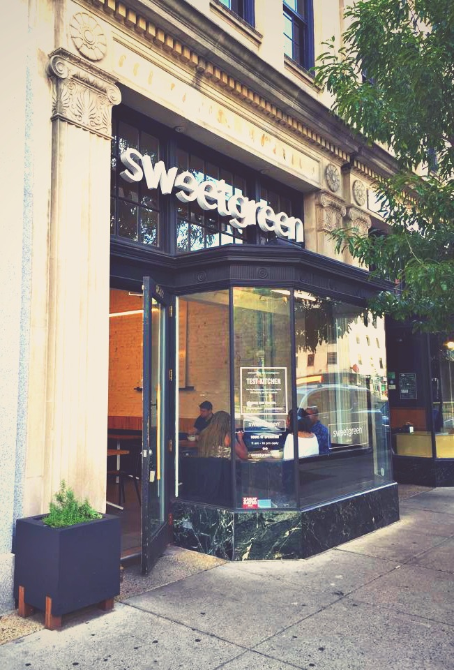 Dupont Circle Washington d.c. sweet green