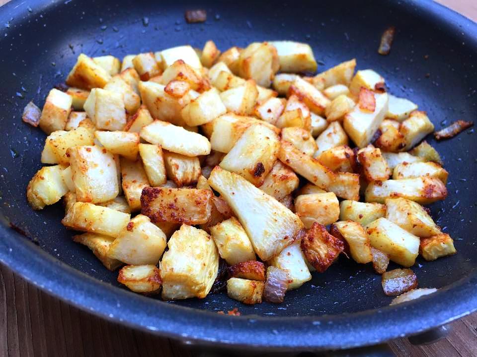celery (celeriac) root: are the new potatoes!