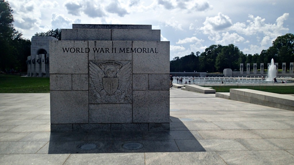 WORLD WAR TWO MEMORIAL WASHINGTON D.C.