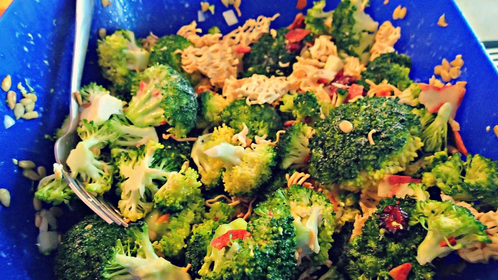 Vegetarian Broccoli Salad