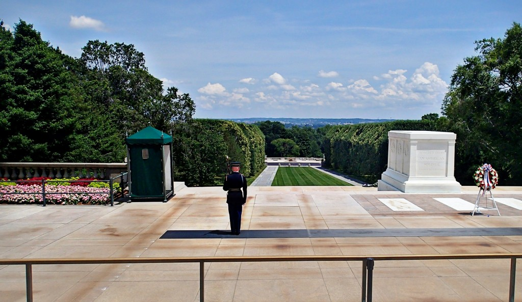 Arlington National Cemetery Washington D.C. Tomb of The Unknown Soldier