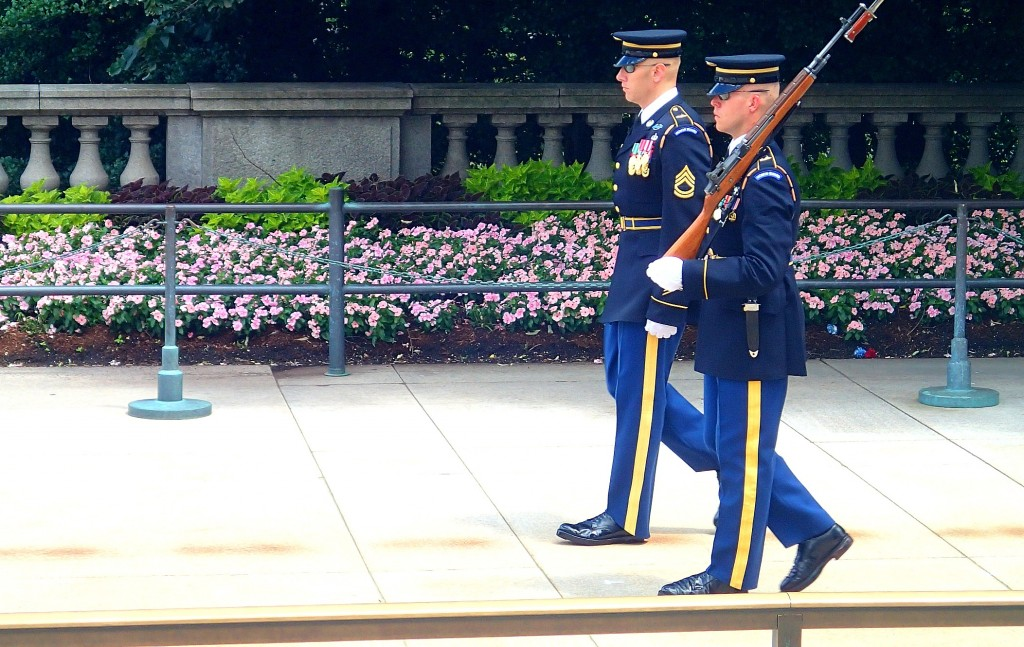 Arlington National National Cemetery Washington D.C. Tomb of Unknown Soldier