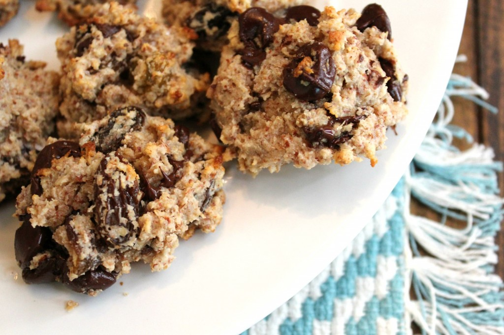 healthy almond flour oatmeal cookies