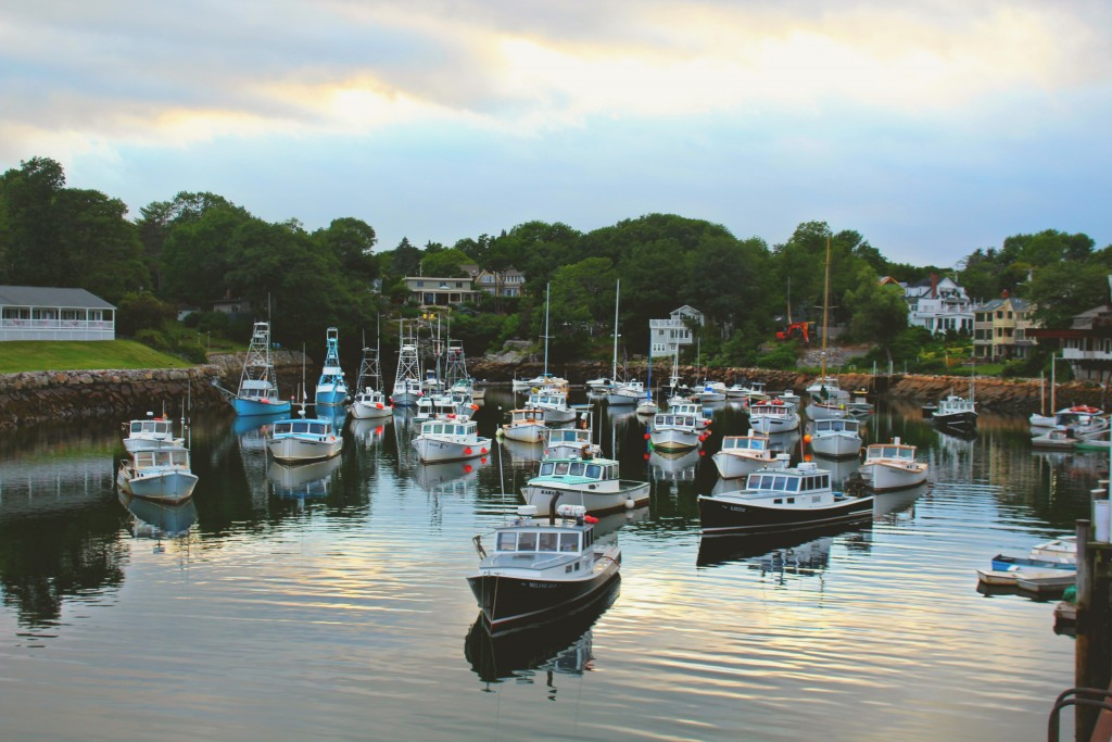 Simply Taralynn Visiting Ogunquit Maine Boats