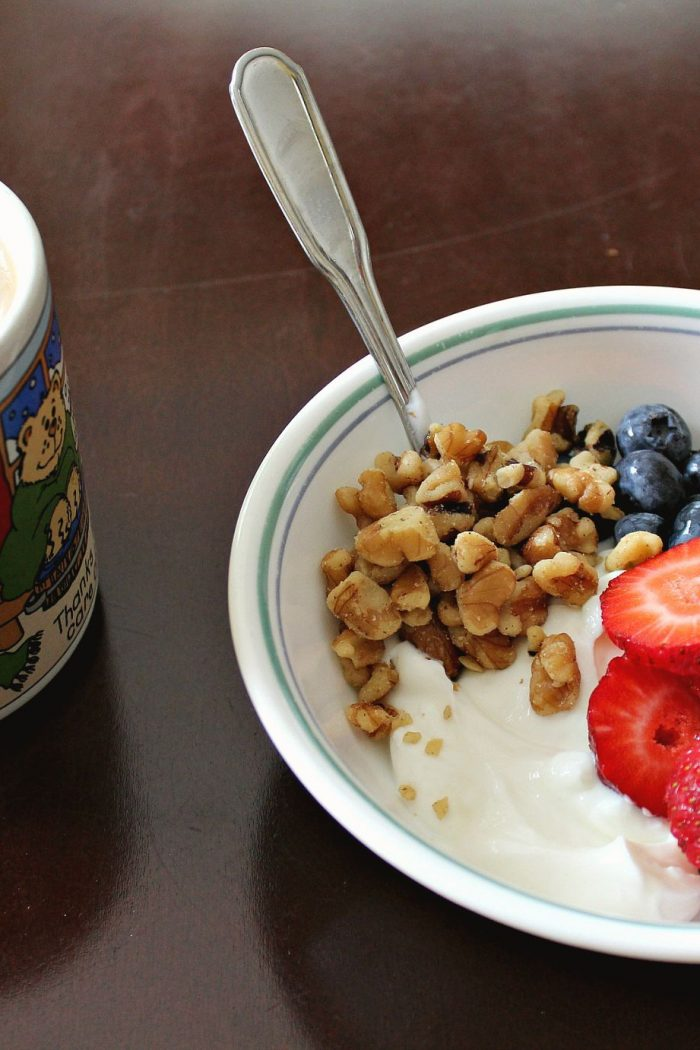 Favorite Breakfast Fast Breakfast: Parfait Bowl