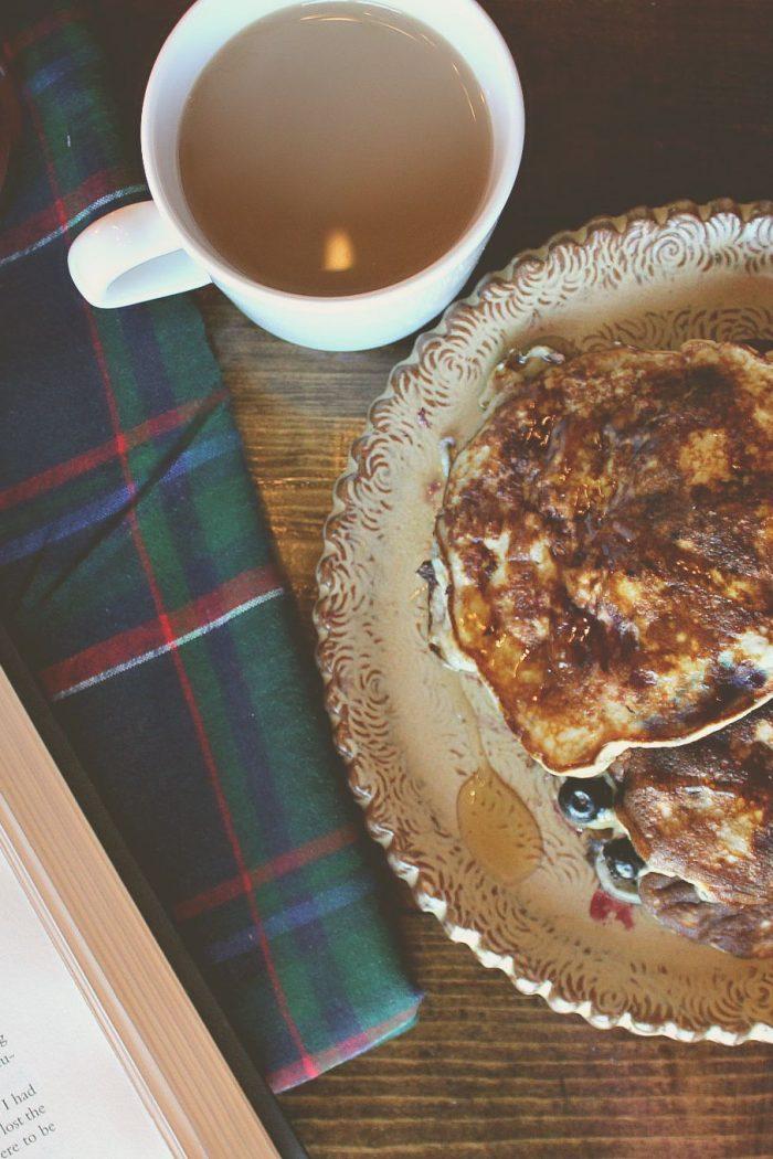 Protein Pancakes & Plaid