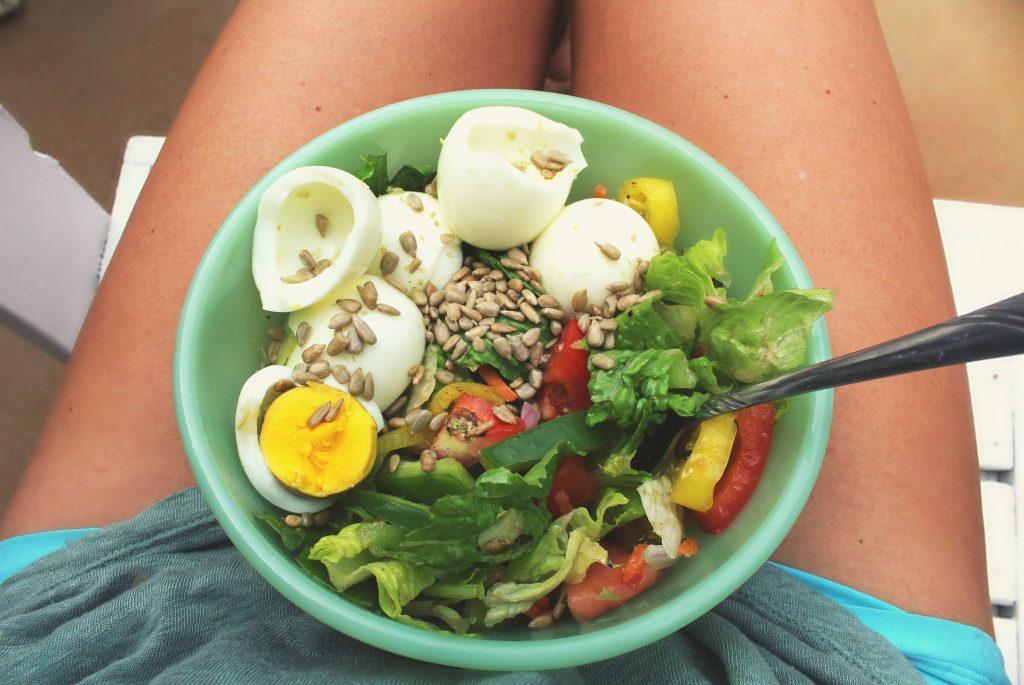 salad with Barcelona vinaigrette