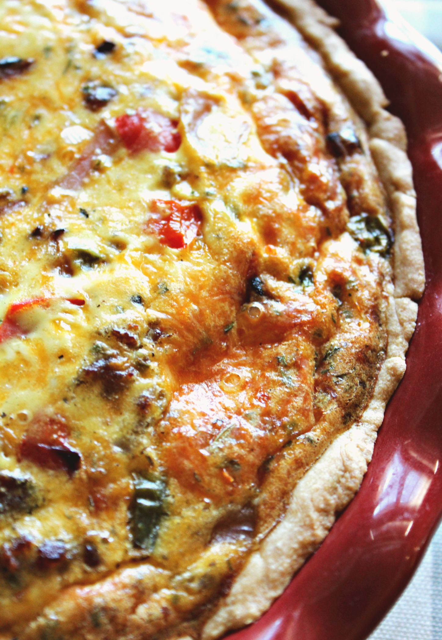 Supreme Quiche: You'll Make More Than Once.
