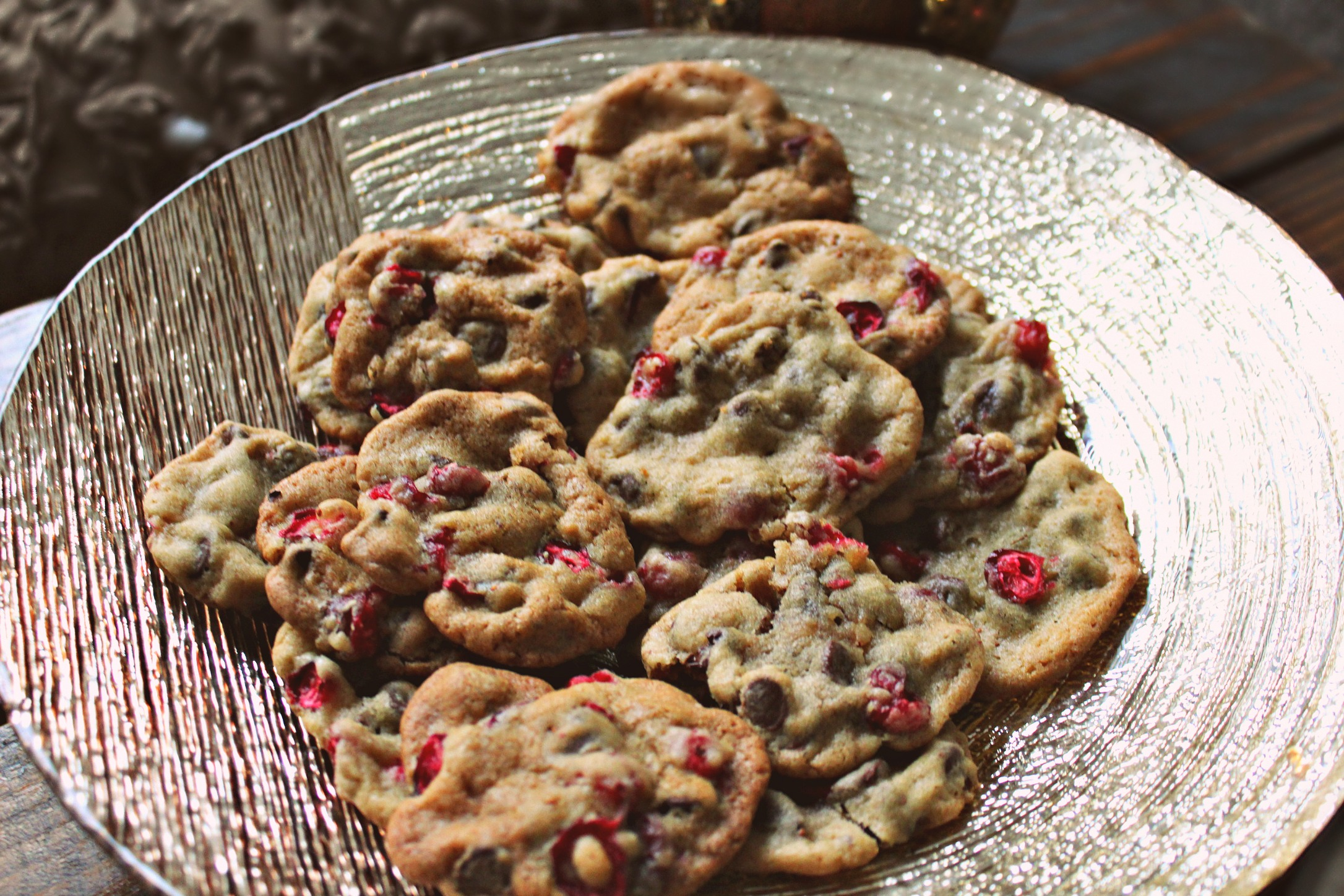 Cranberry Chocolate Chip Cookies – Simply Taralynn