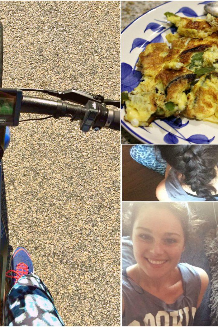 Running, Biking, & Fooding.
