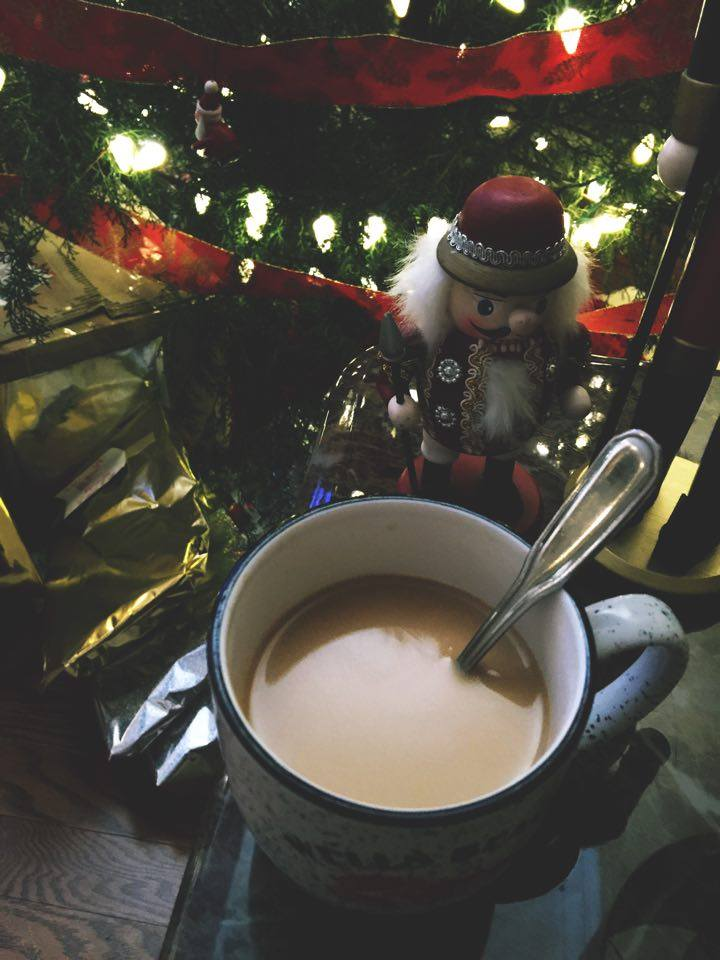 coffee christmas time
