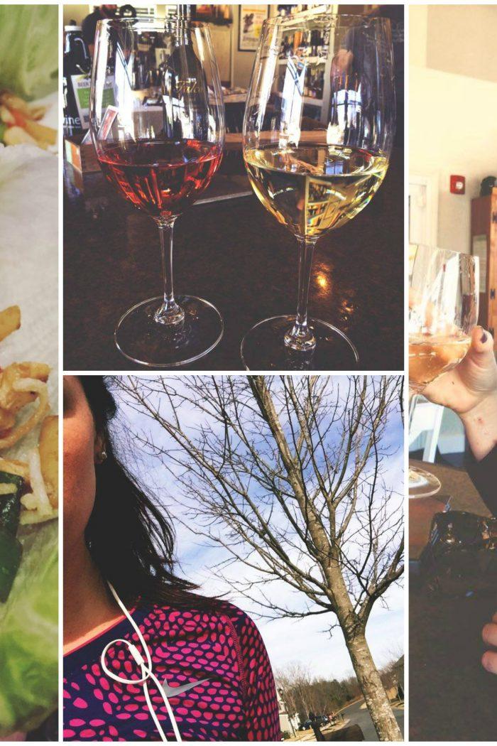 Christmas Shopping, Wine Bar, & The Return of Running!