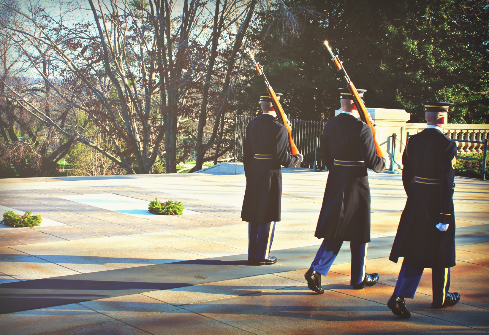 Arlington Cemetary Washington D.C. Changing of the Guards
