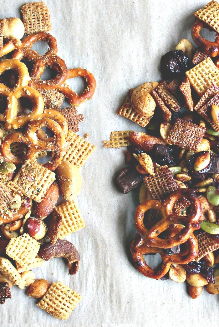 Cinnamon Honey & Buttery Ranch Snack Mix
