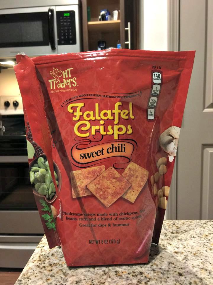 HARRIS TEETER FALAFEL CRISPS
