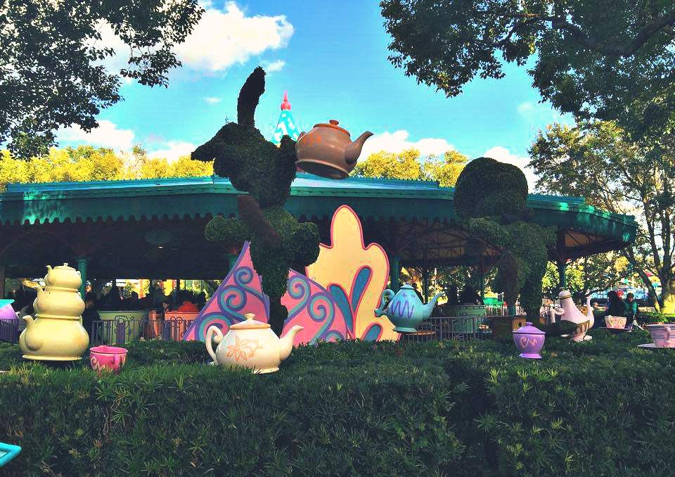 Disney World Magic Kingdom Tea Cups