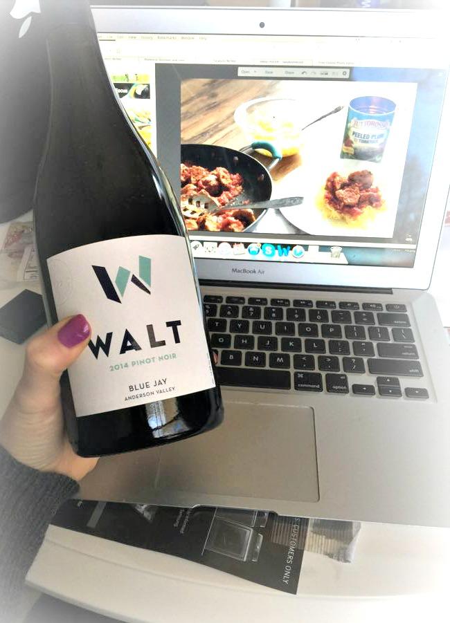 walt wine blue jay pinot noir