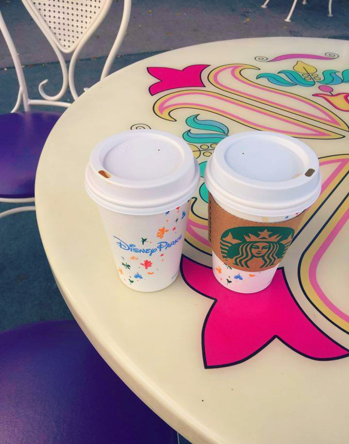 Coffee at Disney World Magic Kingdom