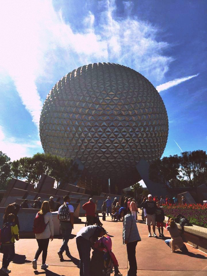 Our Day at Epcot