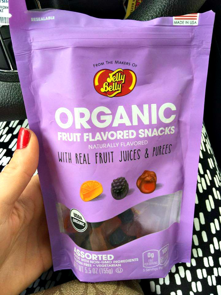 JELLY BELLY ORGANIC FRUIT SNACKS
