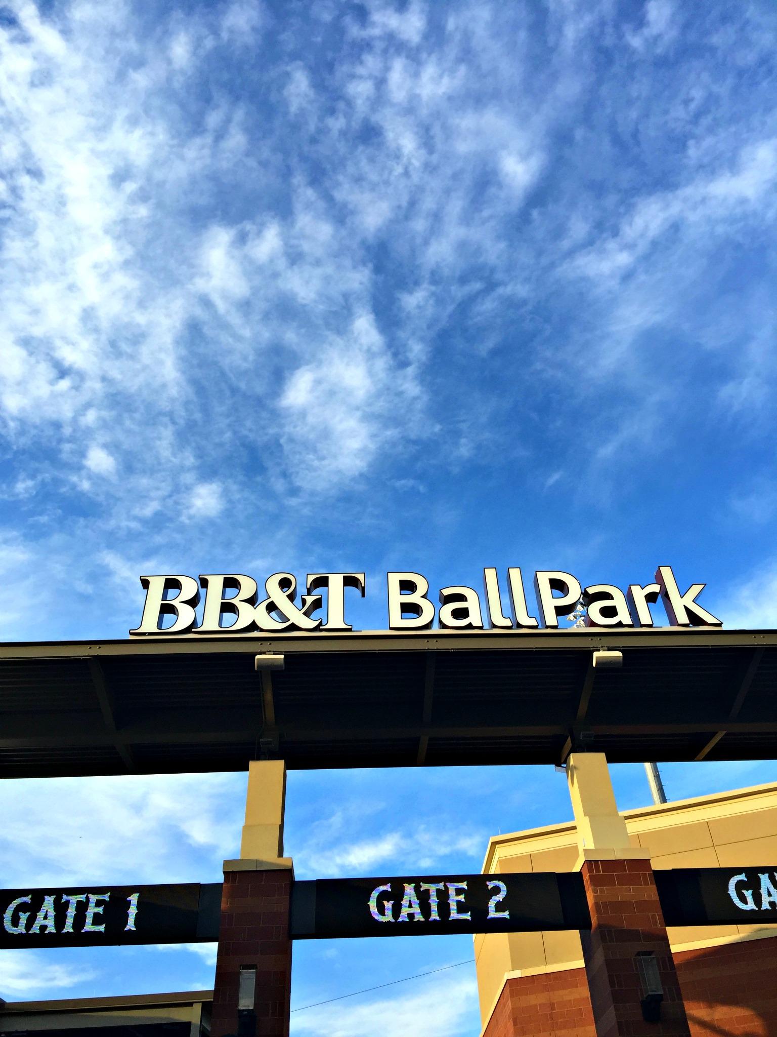 BB&T Ballpark Charlotte NC Knights Baseball