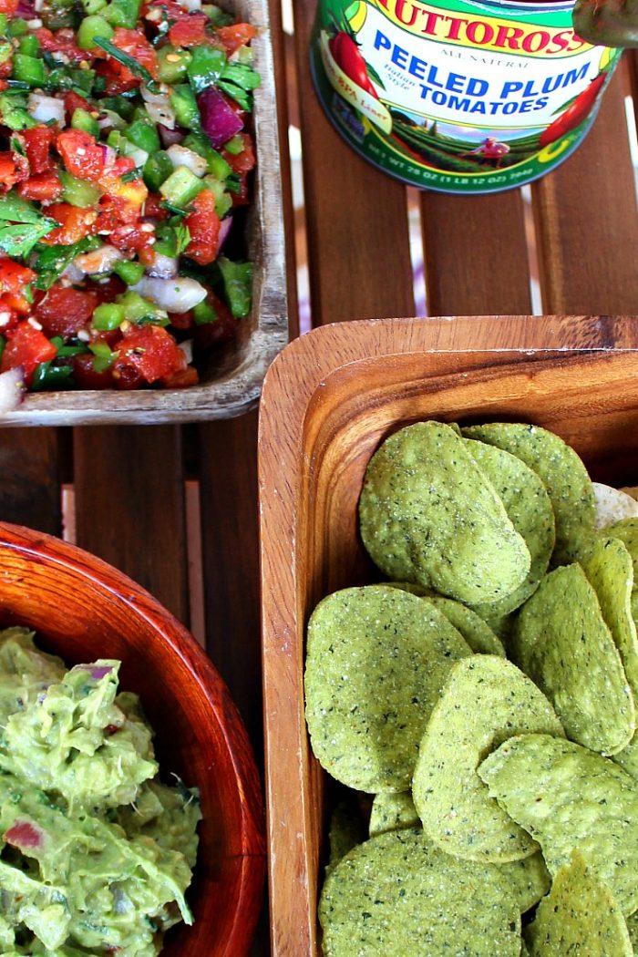 Tuttorosso Tomato Salsa & Guacamole