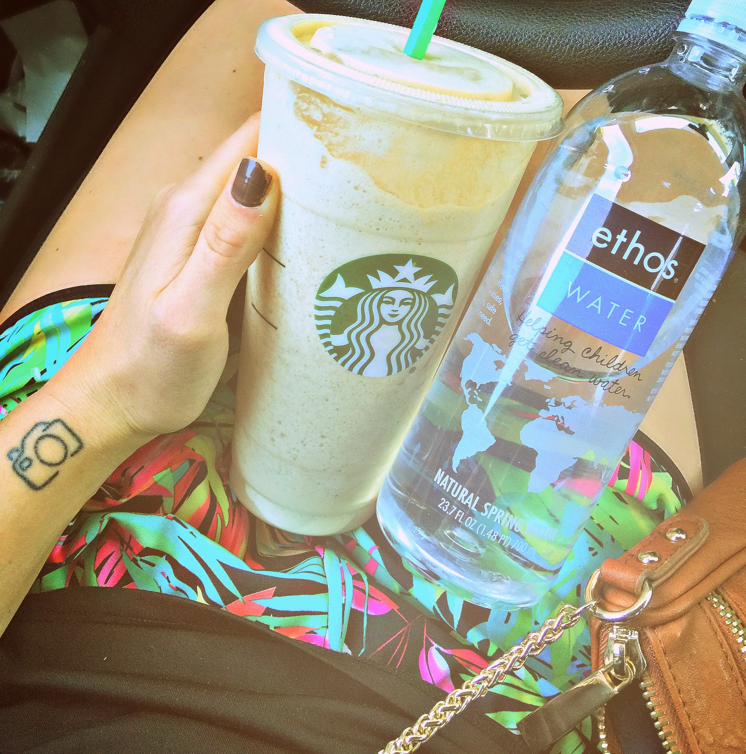 80 calorie venti drink from starbucks