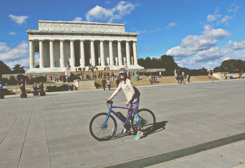 WASHINGTON DC BIKE RIDE REVOLUTION CYCLES