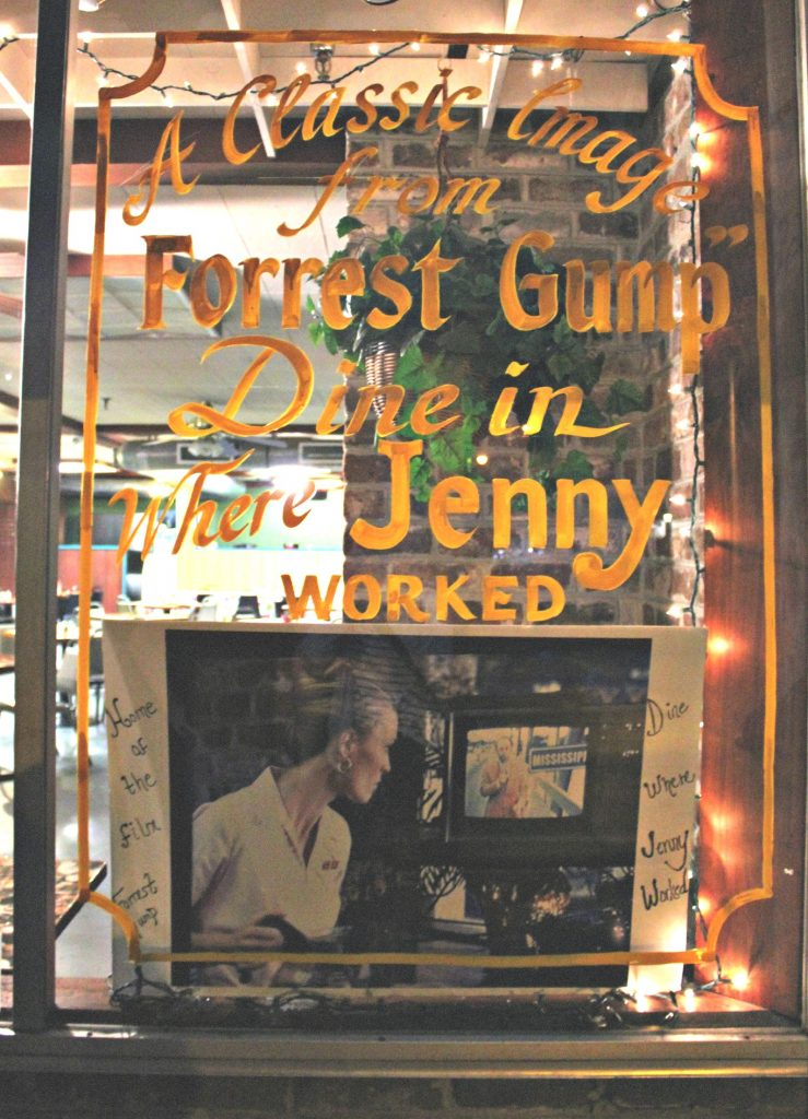 We walked by the Diner that Jenny, from Forest Gump, worked at. Did you know that Jenny was played by Robin Wright (Claire Underwood?) Leave it to Kyle to have all the fun facts.