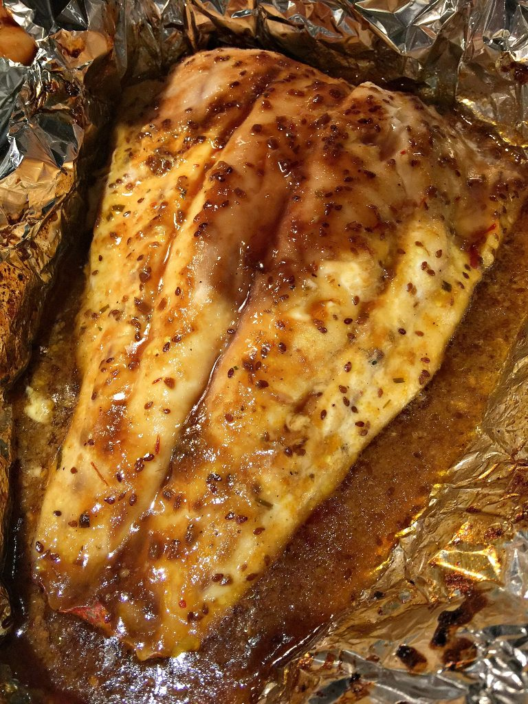 Sweet Chili Teriyaki Snapper Fish