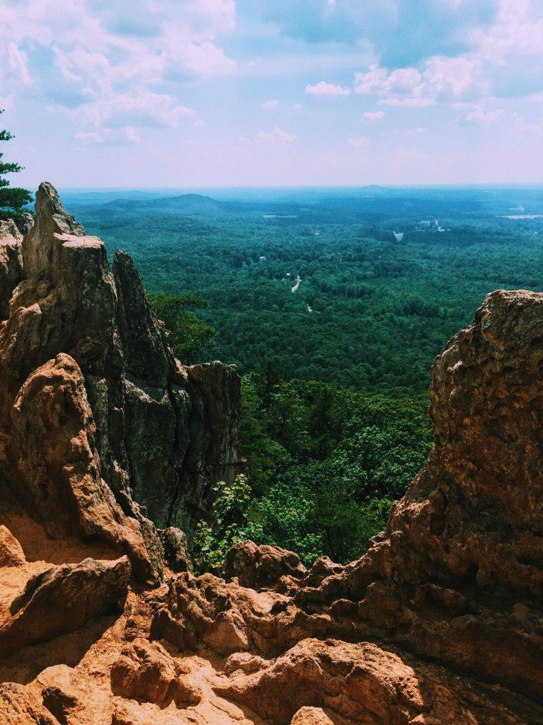 Hiking Crowder's Mountain: Simply Taralynn Charlotte NC
