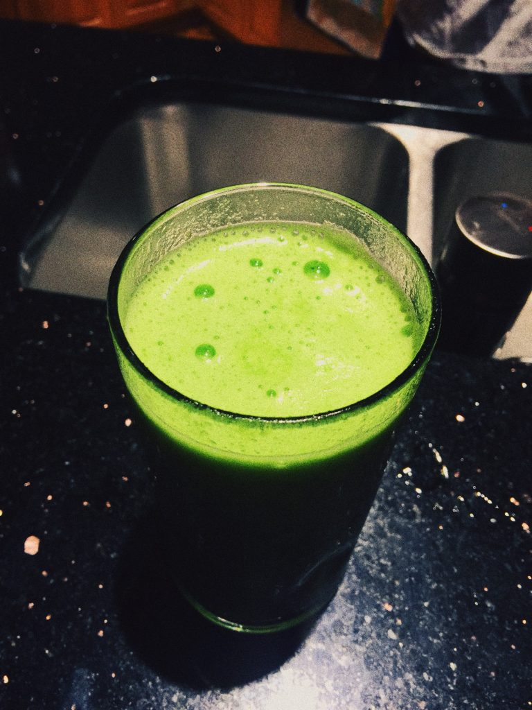 Peach Kale Juice