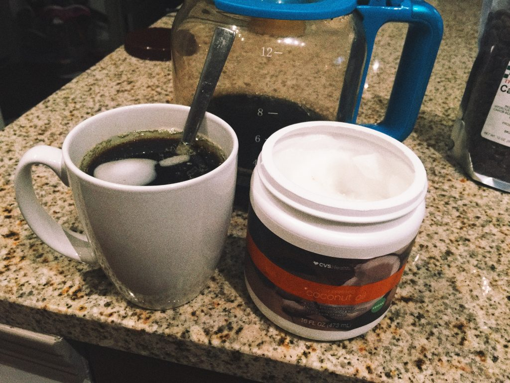 coconut oil & coffee
