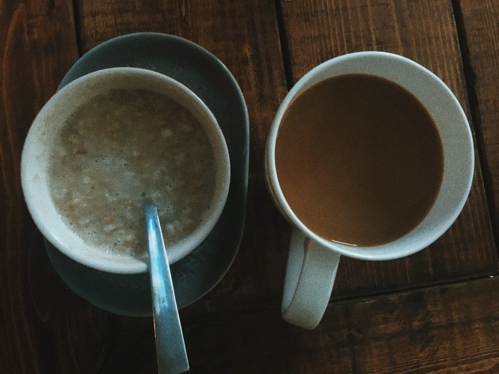 oatmeal & coffee