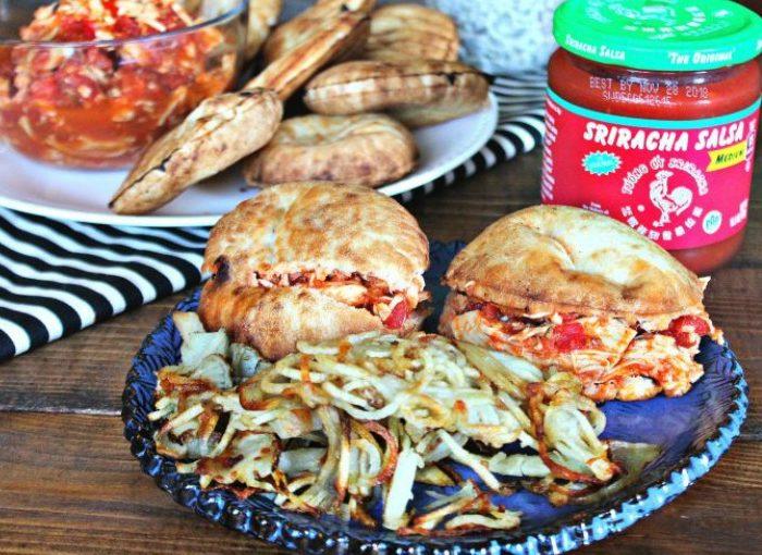 Crockpot Sriracha Salsa Chicken Sliders + $500 Contest ?
