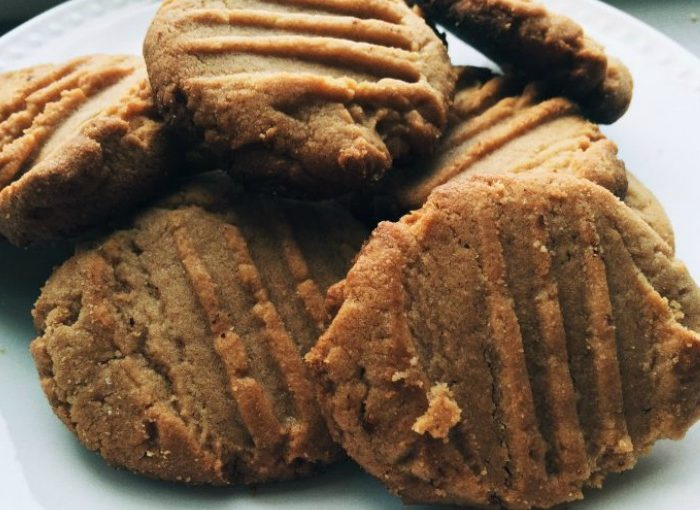 Protein Peanut Butter Cookies