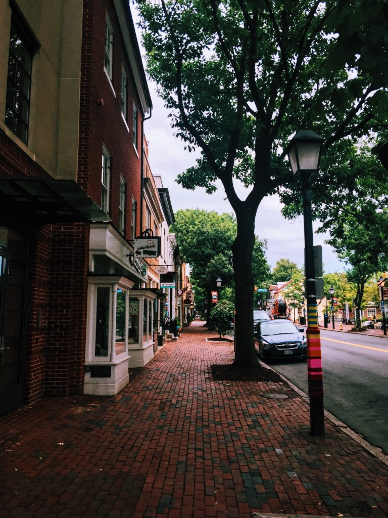 Breakfast in Alexandria Virginia, a DC Weekend.