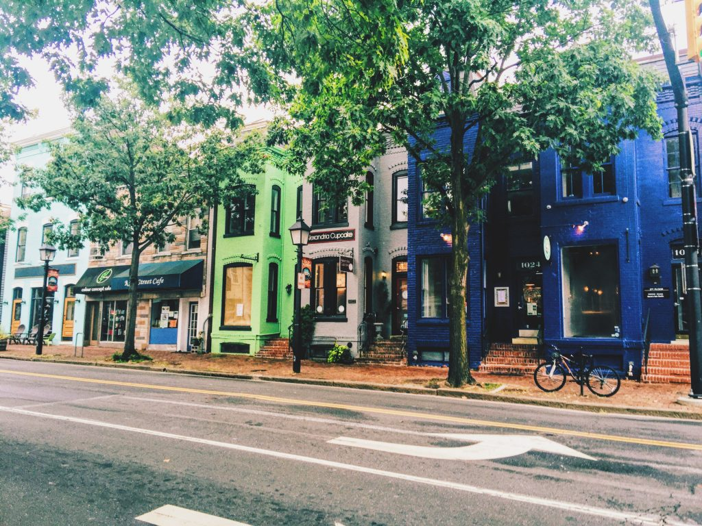 Breakfast in Alexandria Virginia, a DC Weekend.