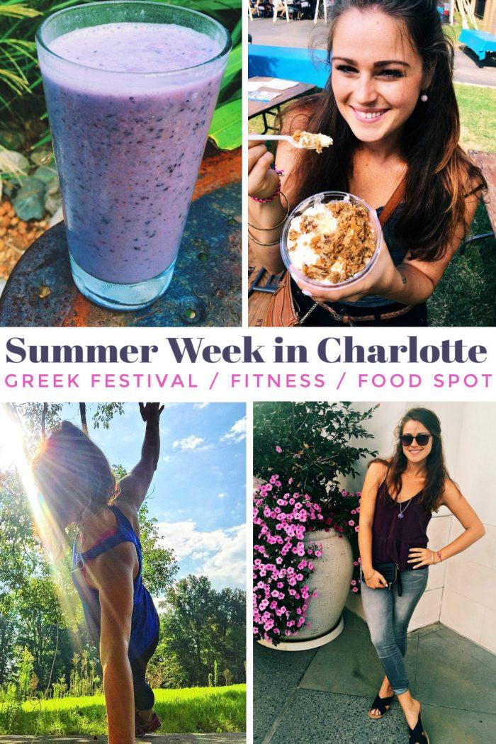 Greek Festival Fun & Weekend Adventures in Charlotte