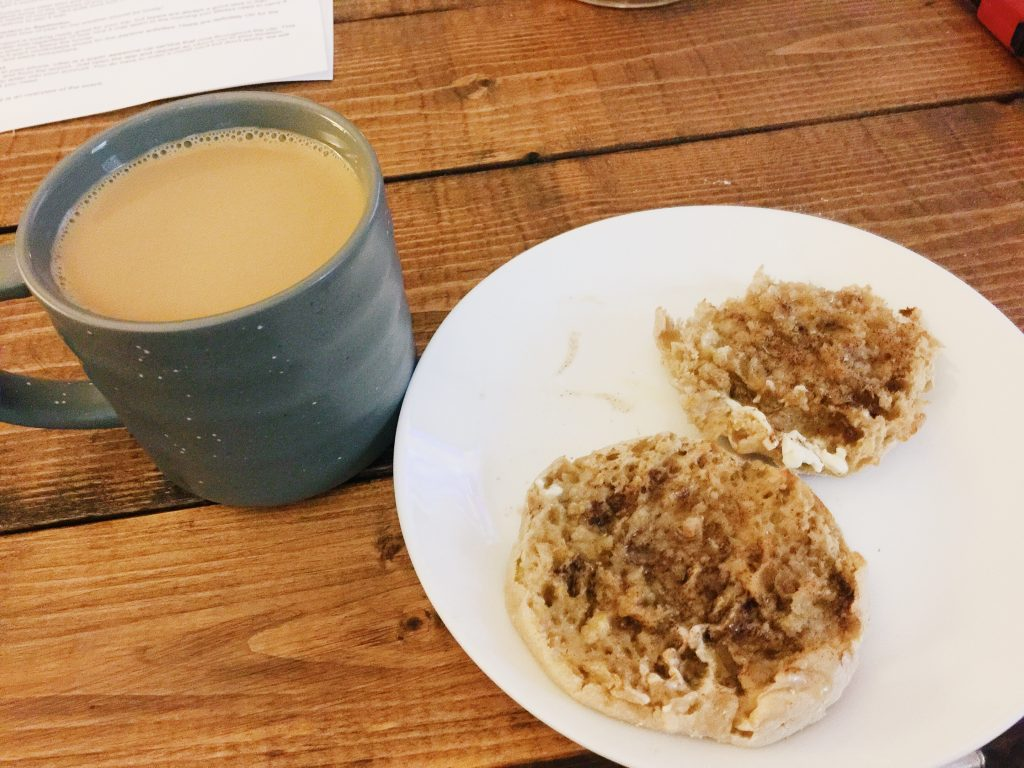 English Muffin With <a href=