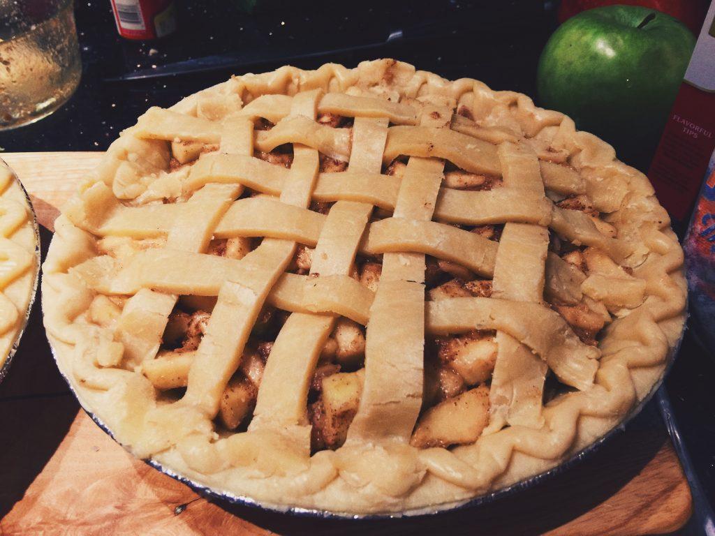 Last Minute Apple Pie & It's to die for!