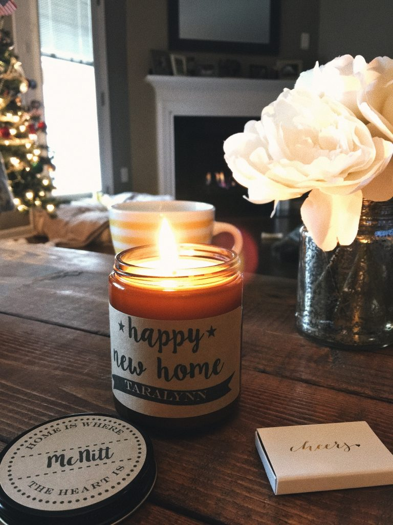 Happy New Home Candle: gift idea