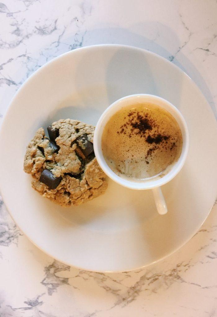 Gluten Free PB Oatmeal Cookies W/Chocolate Chunks!