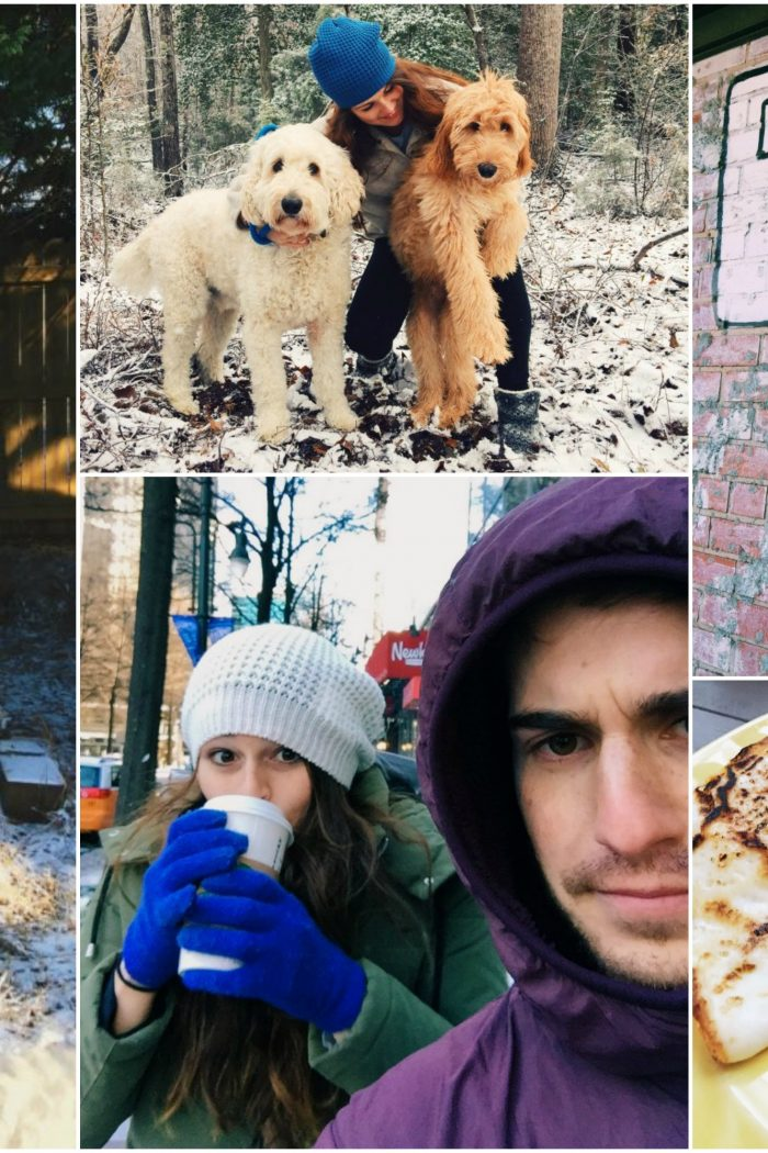 You Call THAT Snow? Fitness! Coffee! Pups!