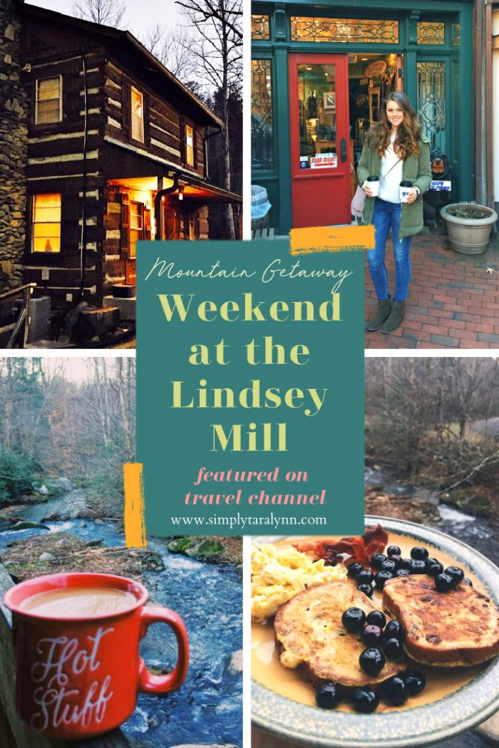 Cozy Cabin in the Smoky Mountains | The Lindsey Mill in Gatlinburg, Tennessee