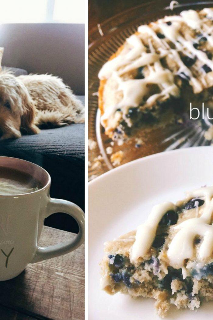 Gluten Free Blueberry Oat Breakfast Cake